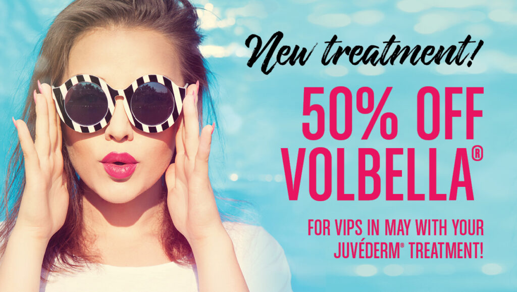 50% Off Volbella in May for VIPs